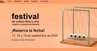 Festival de Cultura Libre y Cine Creative Commons de Almería